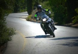 BMW GS 700 Test ride Moto in Action