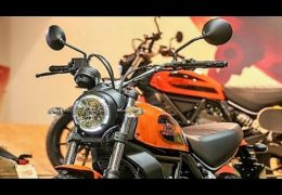 Ducati Scrambler 400 test ride Moto in Action