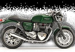 Triumph Thruxton 1200 test ride Moto in Action