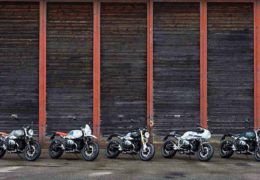 BMW Heritage Family Presention Moto in Action