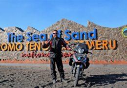 Ταξίδι στην Ινδονησία με Honda GTR150 Supra !!!