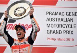 Ο Marc Marquez παίρνει στον τελευταίο γύρο στο Phillip Island την πέμπτη συνεχομένη νίκη του !!!!