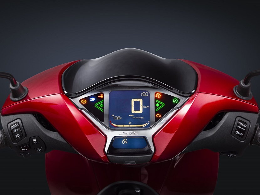 20YM SH150- R369_Pearl Splendor Red - Meter dashboard