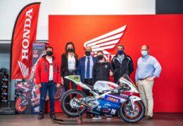 Ο Όμιλος Επιχειρήσεων Σαρακάκη και η Honda Moto υποστηρίζουν τον Σπύρο Μάριο Φουρθιώτη