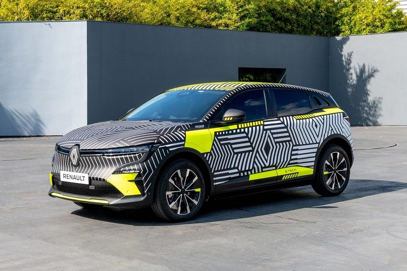 2021 - New Renault MEGANE E-TECH Electric pre-production_low
