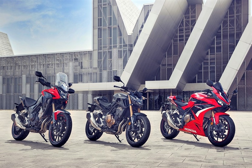 Honda's trio of A2 licence-friendly 500cc machines receive strong performance-focused updates for 2022 year model